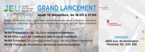 Invitation Lancement 10 Novembre 2016