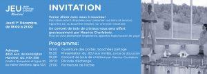 Invitation Rencontre 1er Décembre 2016